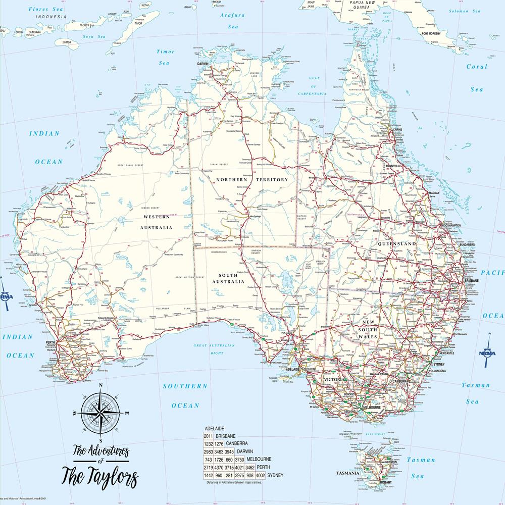 Australia Map Detailed.Australia Detailed Light Blue Map