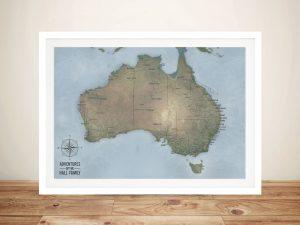 Cyan Australia Pinboard Map