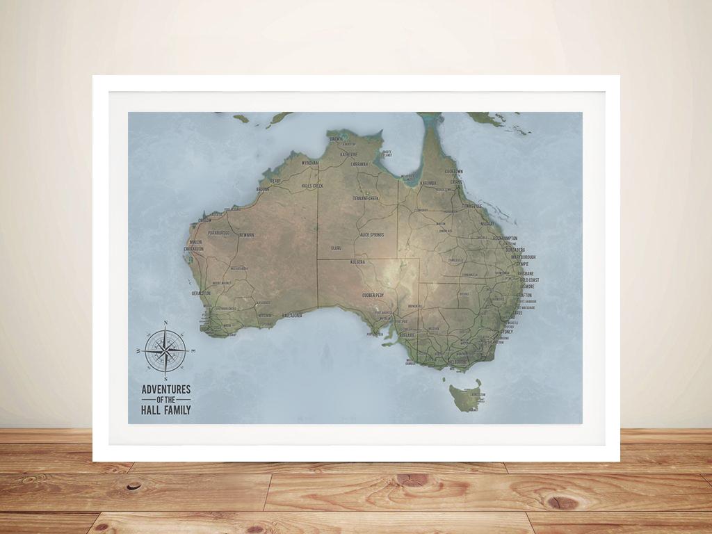 Australia Map In R.Cyan Australia Pinboard Map