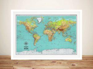 Explorer World Map