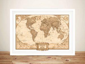 Globetrotter Adventure World Map