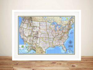 USA Push Pin Map – Detailed Explorer