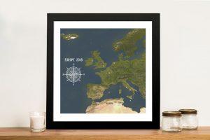 Western Europe – Charcoal Aventuras