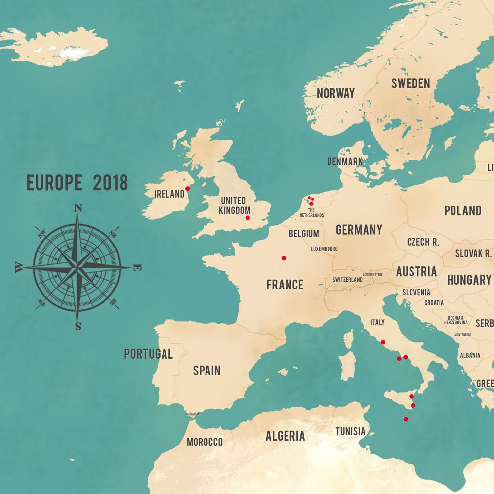 Western Europe - Teal Aventuras