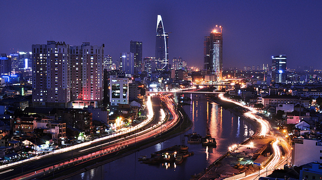 Top Five Saigon Sights by Night