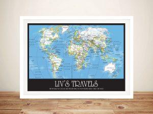 Wayfarer World Map