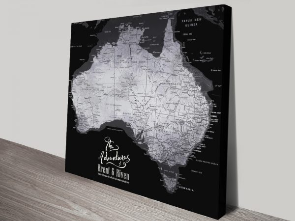 Buy Detailed Pushpin Maps in Various Colours