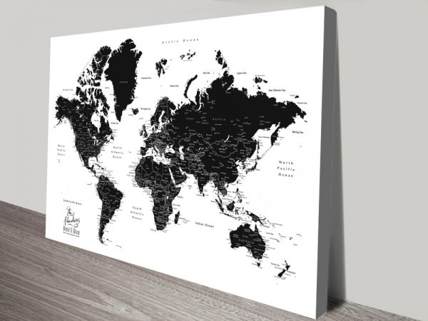 Buy Affordable Pushpin Maps in a Range of Colours